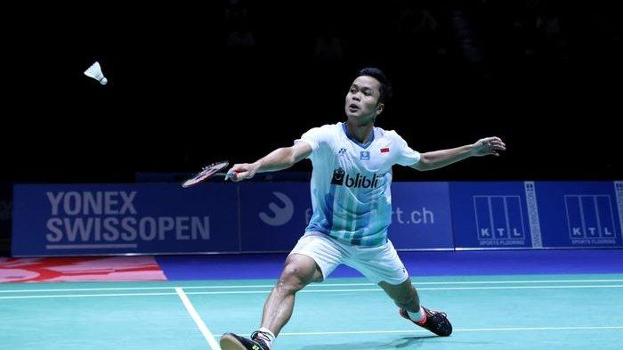 Link Live Streaming Semifinal Thailand Open 2021, Anthony Ginting Bertanding Melawan Axelsen