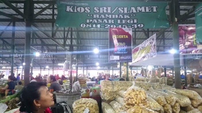 SGS 2019 di Pasar Legi Darurat Solo, Hari Pertama Penukaran Poin Transaksi Terhimpun Rp 15 Juta