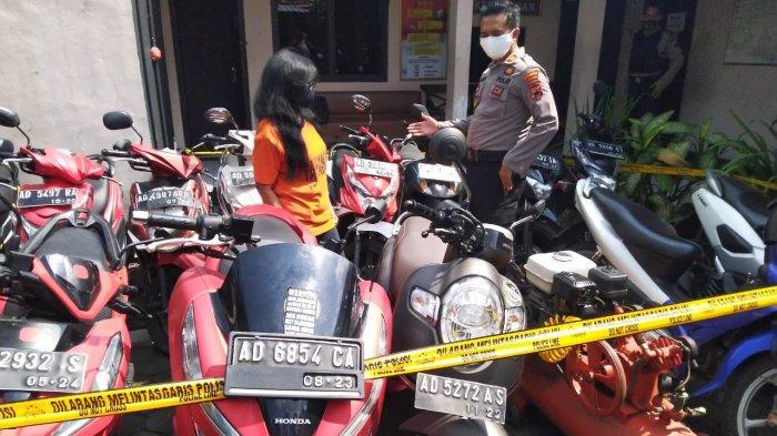 Nekat Gadaikan 17 Motor Teman, Perempuan Paruh Baya Asal Serengan Terancam 5 Tahun Penjara