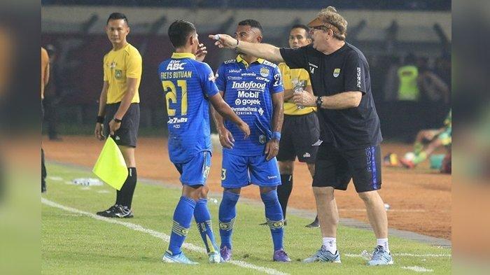 Daftar Pemain yang Kemungkinan Dipertahankan Pelatih Persib Bandung Robert Alberts, Ada Vizcarra