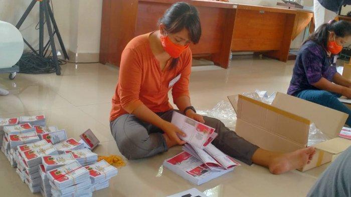 Ratusan Lembar Surat Suara Pilkada Klaten 2020 Rusak, KPU Klaten: Kebanyakan Sobek