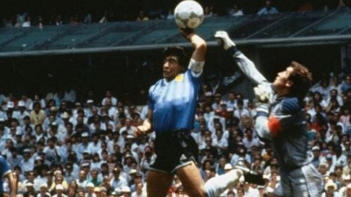 Cerita Ali Bin Nasser Jadi Wasit yang Sahkan Gol Tangan Tuhan Maradona, Begini Kronologi saat Laga
