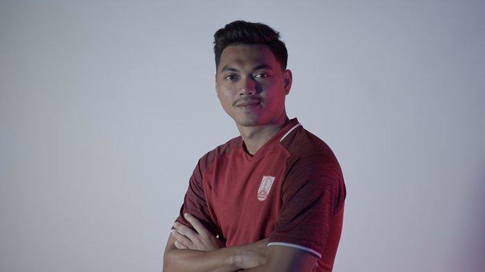 Pemain baru Persis Solo dari Persija Jakarta, Alfath Fathier.