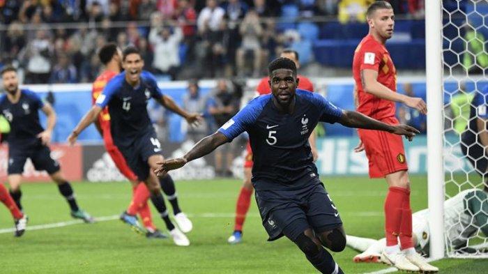 Hasil Semifinal Piala Dunia 2018, Kroasia Jumpa Prancis di Final