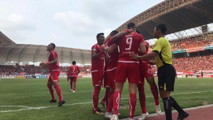 Untuk Sementara, Persija Jakarta Kudeta Posisi PSM Makassar di Puncak Klasemen Liga 1 2018