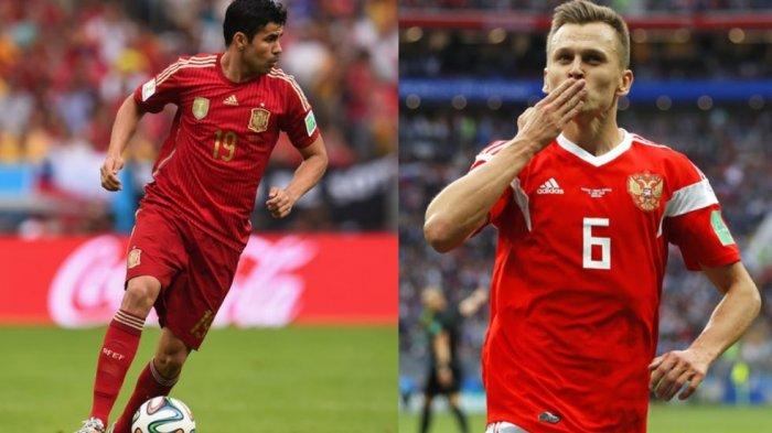 Jadwal dan Analisis Piala Dunia 2018: Spanyol vs Rusia, Sejarah Memihak La Furia Roja
