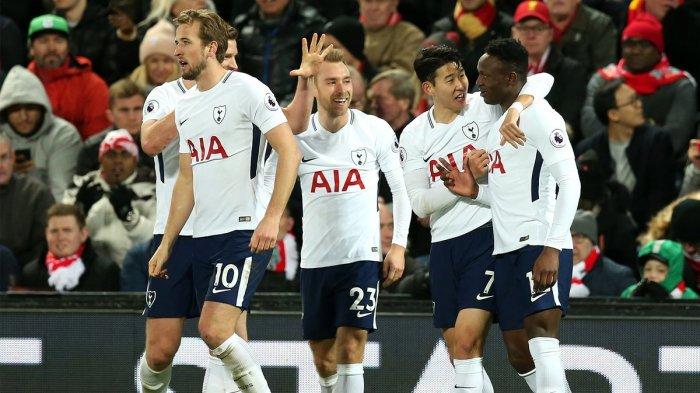 Klasemen Sementara Liga Inggris 2018/2019, Tottenham Buntuti Liverpool Usai Tekuk Manchester United
