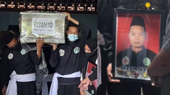 Haru Biru Pemakaman Riyanto, Pesilat Korban Sriwijaya Air SJ182, Keluarga Besar Pagar Nusa Berduka