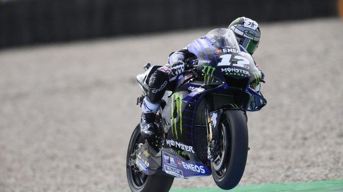 Hasil MotoGP Belanda 2019, Vinales Juara Kalahkan Marquez dan Quartararo