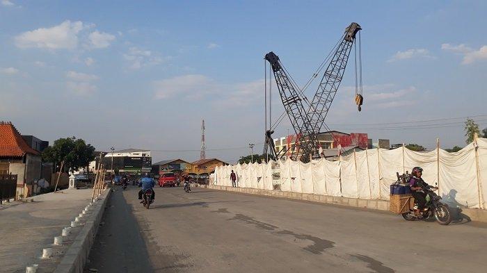 Ditargetkan Rampung Desember 2018, Progres Proyek Jembatan Tirtonadi Solo Sudah Mencapai 54%