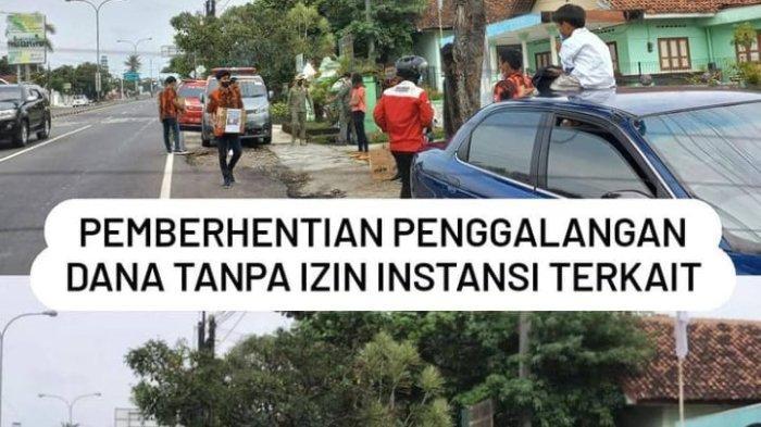 Satpol PP Boyolali Bubarkan Aksi Penggalangan Dana di Lampu Merah, dan Razia Alun-alun Pengging
