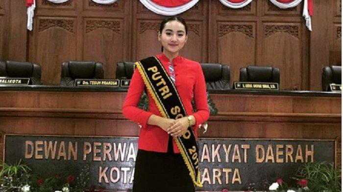 Terlibat Aktif dalam Pemilihan Putra Putri Solo 2018, Ini Tugas Putri Solo 2017, Anggia Permata Sari