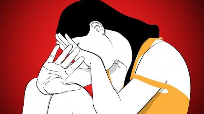 Istri Ngamuk dan Cakar Muka Suaminya yang Jadi Pelaku Pemerkosaan Mama Muda di Tulungagung