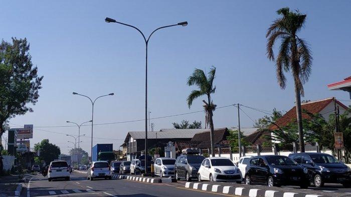 H+5 Lebaran, Kendaraan Pelat Luar Daerah Keluar dari Solo ke Arah Semarang dan Jakarta