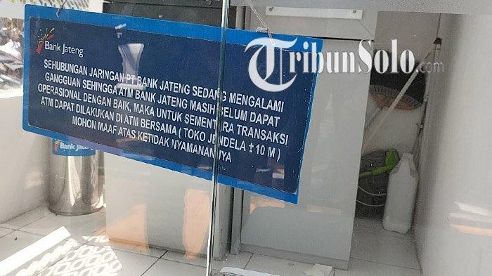 Nasib Mesin ATM Bank Jateng di Samsat Klaten Kini Sepi, Imbas Raibnya Uang Miliaran Milik Nasabah