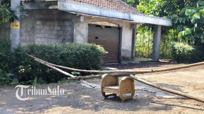 Penampakan Satu Dukuh di Boyolali yang Sepi Bak Kuburan karena Lockdown, 39 Warga Kena Covid-19