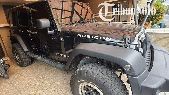 Kasus Pencurian Mobil Mewah Jeep Rubicon di Sukoharjo, Polisi Periksa CCTV Kompleks Perumahan