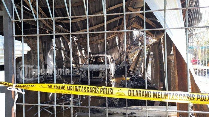 Kebakaran Hebat di Masaran Sragen, Mobil Innova dan Dua Motor Ikut Terbakar, Kerugian Rp 3 Miliar