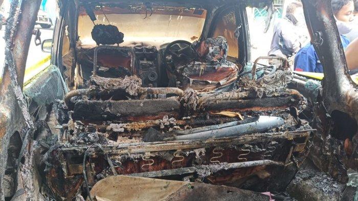 Penampakan Terkini Bagian Dalam Mobil Xenia yang Hangus untuk Membakar Mayat Yulia di Bendosari