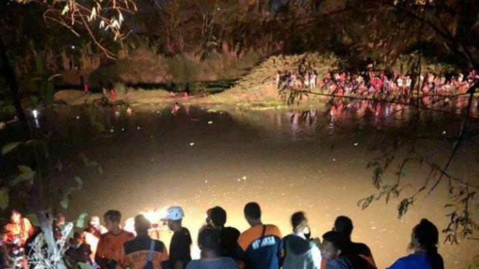 Seorang Pemuda Asal Sukoharjo Hilang, Saat Berenang di Aliran Sungai Bengawan Solo di Klaten