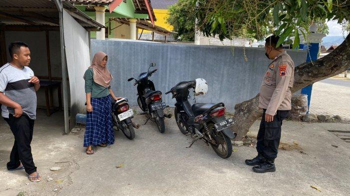 Awas Jangan Lengah ! Lupa Cabut Kunci Sepeda Motor, Honda Beat Karyawan Warung Makan Raib