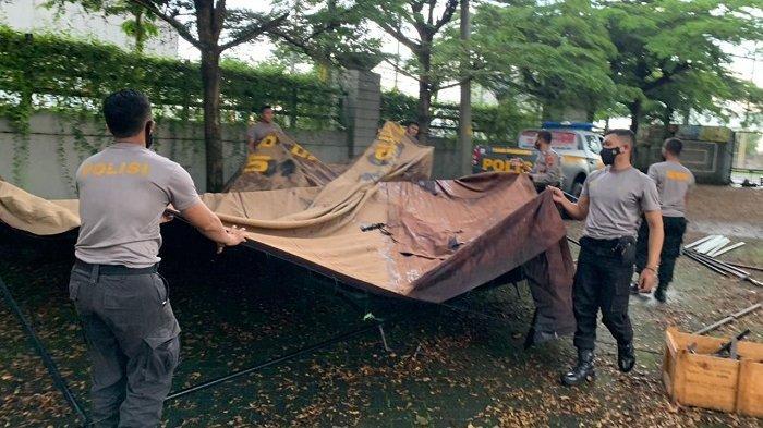 Jelang Paskah, Polisi Dirikan Pos Pengamanan Tersebar di Sukoharjo, Ada Bantuan TNI hingga Relawan