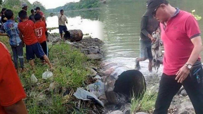 Mayat Dicor dalam Drum di Sukoharjo Diduga Pria Korban Pembunuhan