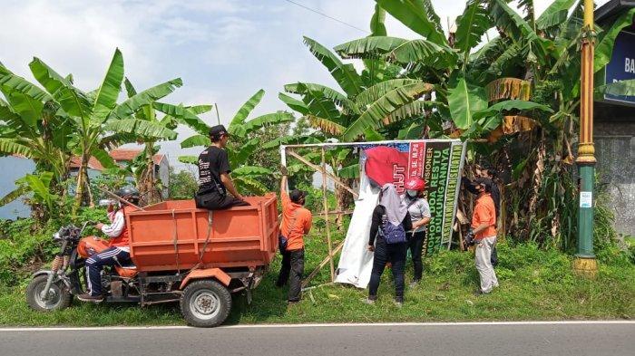 Ratusan APK di Klaten Dicopot di Masa Tenang, Bawaslu: Nanti Malam Kita Lakukan Patroli