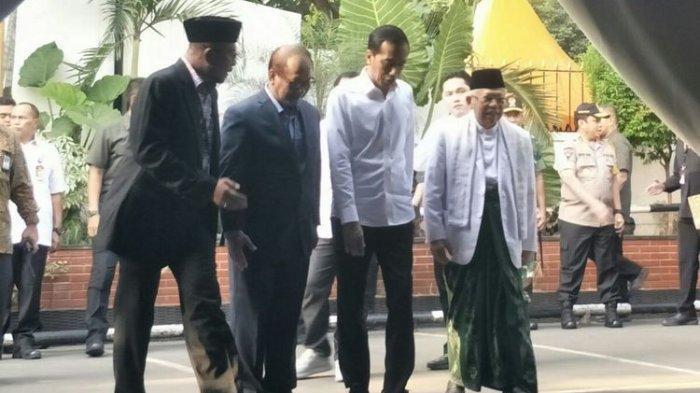 Deretan Elite Pendukung Prabowo-Sandi yang Hadiri Penetapan Jokowi-Ma'ruf sebagai Calon Terpilih