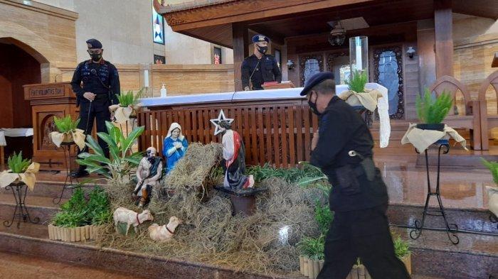 Besok Natal, Polisi dan Tim Gegana Sisir Gereja, Polresta Solo : Cek Teliti, Bukan Hanya Formalitas
