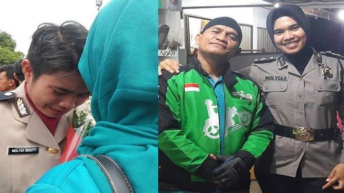 Viral Kisah Driver Ojol Berhasil Antar Putrinya Jadi Polwan, Begini Sosok sang Ayah di Mata Anaknya