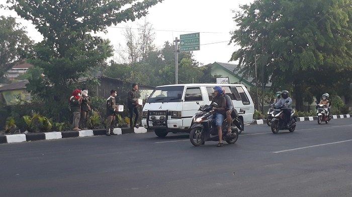 Marak Peminta Sumbangan Gempa Palu di Jalan Kota Solo, Dishub Mengaku Tak Pernah Beri Izin