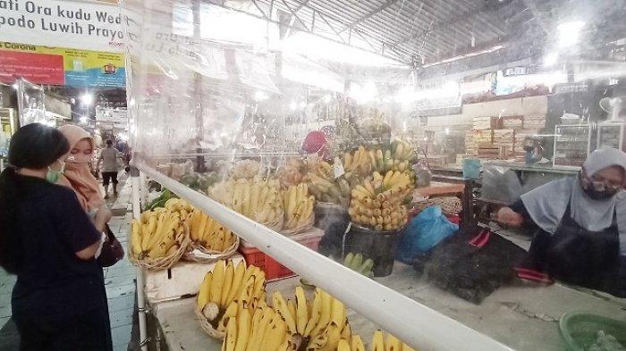 Sempat Ada Isu Tutup saat Jateng di Rumah Saja, Pedagang Pasar Gede Kecele, Jualan Tapi Tak Ada Stok