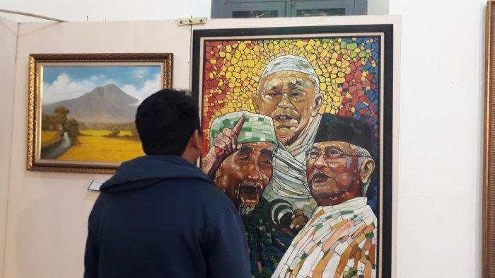 Sebanyak 40 Pelukis Pamer Karya di Pameran Seni Lukis dan Pasar Lukis Kali Glodok Klaten