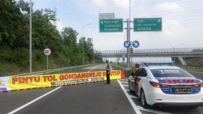 PPKM Level 3 Karanganyar : Ruas - ruas Jalan ini Kembali Dibuka & Exit Tol Solo-Ngawi Tak Ditutup