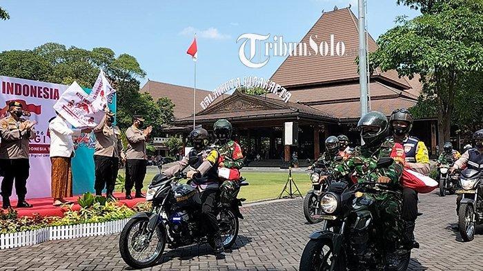 Di Solo, Penyaluran Ribuan Paket Bansos untuk Masyarakat Gunakan Motor