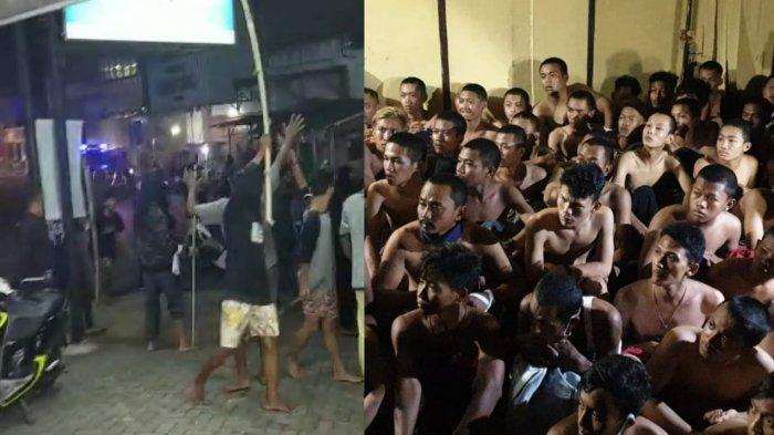Sok Jagoan Bawa Senjata dan Aniaya Korban di Pedan Klaten, 74 Orang Tak Berkutik di Hadapan Polisi