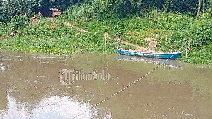 Perahu Getek Riwayatmu Kini,Menteri PUPR Basuki Bikin Jembatan Gantung Hubungkan Solo-Mojolaban