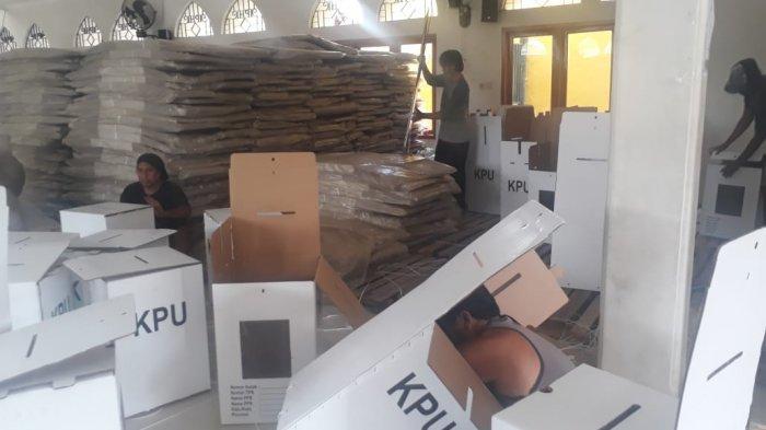 Minggu Depan, Logistik Pilkada Sragen akan Mulai Didistribusikan, KPU: Akan Dikawal Ketat