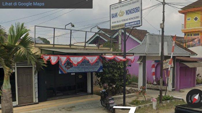 BREAKING NEWS : Teller Bank di Wonosobo Dirampok Pria Berpistol, Pelaku Sikat Rp 100 Juta