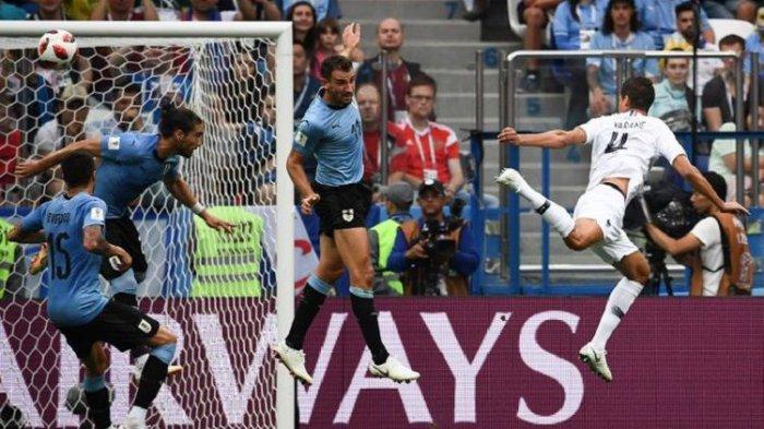 Tekuk Uruguay 2-0, Perancis Jadi Tim Pertama Melaju ke Semifinal Piala Dunia 2018