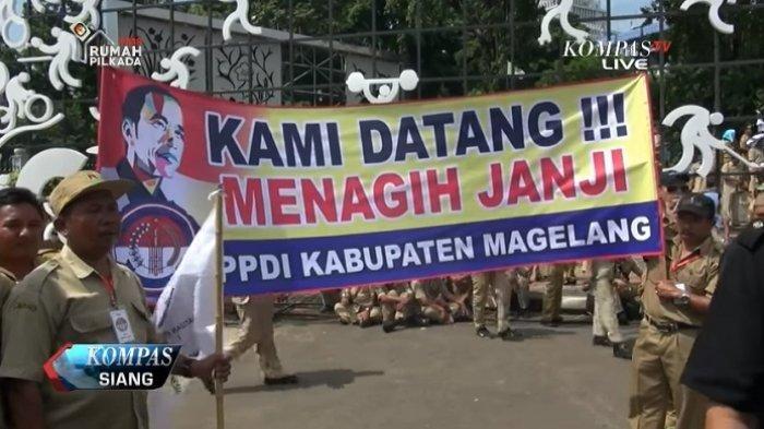 Jokowi Janji Bakal Naikkan Gaji Perangkat Desa Setara PNS Golongan ll A, Yakni Rp 1,92 Juta