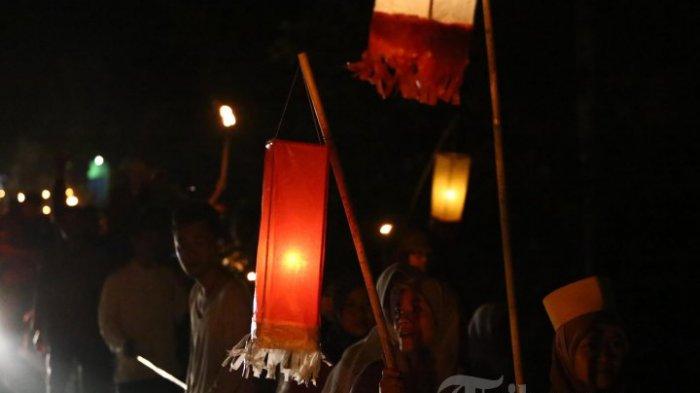 Ilustrasi perayaan Tahun Baru Islam di Tasikmalaya.
