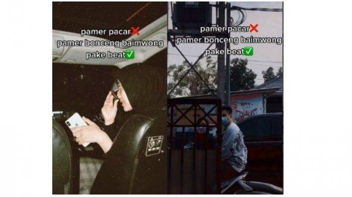 Viral Wanita Bonceng Baim Wong Pakai Motor, Ternyata Begini Kejadian di Baliknya