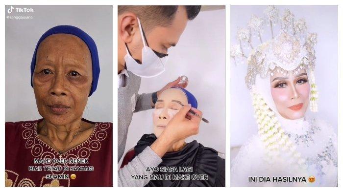 Viral MUA Berhasil Make Up Nenek-nenek Jadi Terlihat Muda, Terungkap Triknya Membuat Kulit Kencang