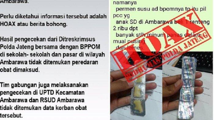 Beredar Pesan Berantai Permen Susu Mengandung Narkoba di Ambarawa, Polisi: Itu Hoax