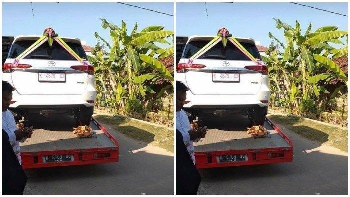 Heboh Seserahan Fortuner Ternyata Mobil Curian, Ternyata ini Trik Pelaku Keluarkan Mobil dari Dealer