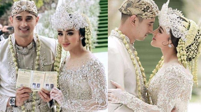 Maskawin Unik Pernikahan Ali Syakieb & Margin Wieheerm, Pakai Uang Kuno Sejumlah Rp 602.021