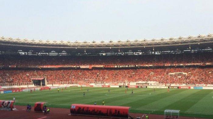 Laga Penentuan Juara Liga 1, Persija Dipastikan Main di SUGBK