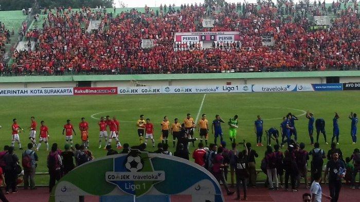 Ini Susunan Pemain Laga Klasik Persija Jakarta vs Persib Bandung di Stadion Manahan Solo